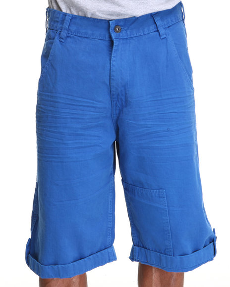 Rocawear Men Blue Colored Americano Denim Shorts