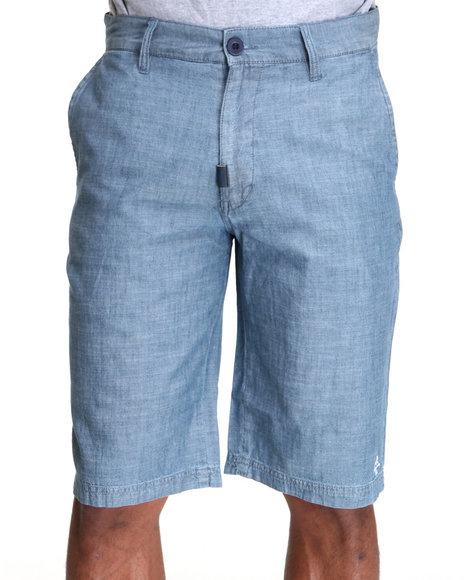 LRG Men Blue Bon Voyage True-Straight Short