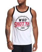 Shirts - Who Shot Ya? 1995 Tank Top
