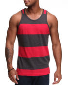 Buyers Picks - Heathered Thick Stripe Tank Top