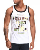 Shirts - Fresher Than All My Foes Tank Top