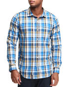 Shirts - Down From Earth L/S Button-Down