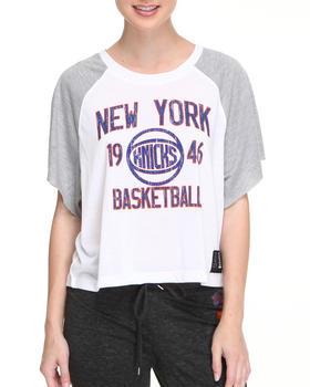 NBA MLB NFL Gear - New York Knicks Crop Top