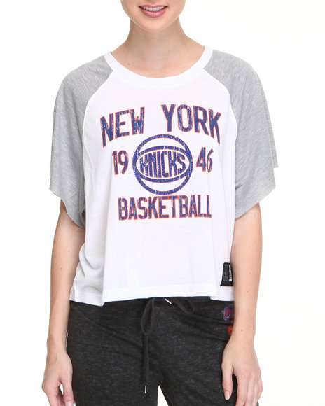 NBA MLB NFL Gear - New York Knicks Crop Top