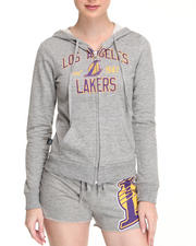 NBA MLB NFL Gear - Lakers Zip Up Hoodie