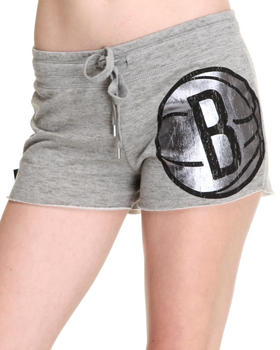 NBA MLB NFL Gear - Brooklyn Nets Bank Shot Shorts