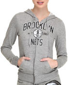 NBA MLB NFL Gear - Brooklyn Nets Zip Up Hoodie
