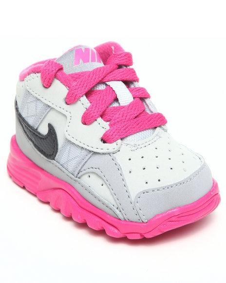 Nike Boys Grey,Pink Air Trainer Sc Sneakers (Toddler)