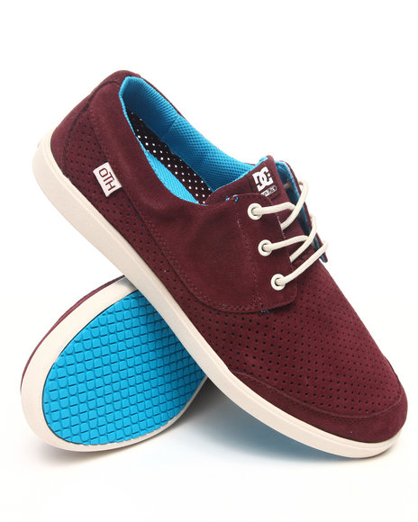 Dc Shoes Men Maroon Pool Le Oth Sneakers