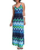 Dresses - Monica Printed Maxi Dress
