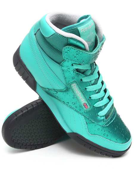 Reebok Men Teal Exofit Plus Hi Sneakers