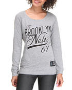 Long-Sleeve - Brooklyn Nets Long Sleeve Tee