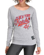 Long-Sleeve - New York Knicks Long Sleeve Tee