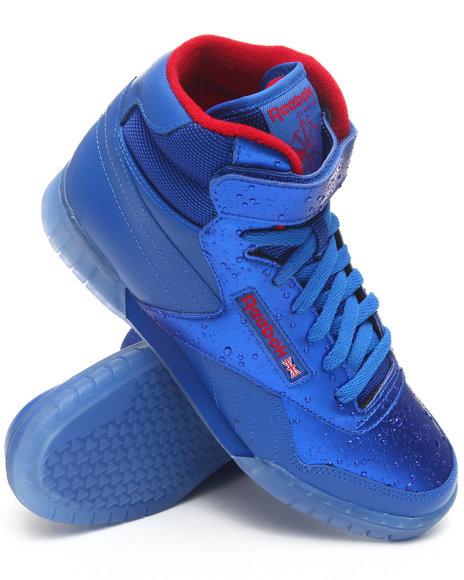 Reebok Men Blue Exofit Plus Hi Sneakers