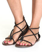 Fashion Lab - Braided Gladiator Sandal