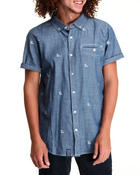 Men - Leafy L S/S Button-Down