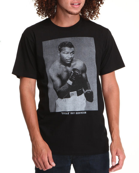 Buyers Picks Men Black Sugar Ray Robinson Tee