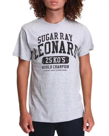Buyers Picks - Men Grey Sugar Ray Leo 25 Ko's Tri Blend Tee - $10.99