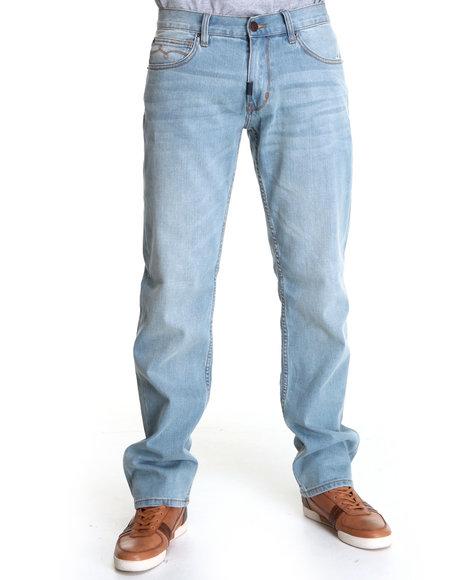 LRG Men Light Wash Core Collection True - Straight Denim Jeans