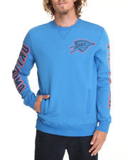 Pullover Sweatshirts - Oklahoma Thunder  Synopsis Crew Neck Sweatshirt