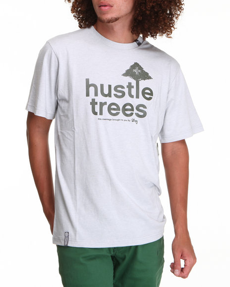 LRG Men Light Grey,Olive Core Collection Eight S/S Tee