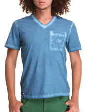 Shirts - Cold World Slim Fit Vneck