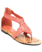 Two Lip Shoes - Woven Zip Gladiator