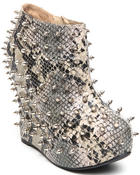 Fashion Lab - Bunting Spike Platform Bootie