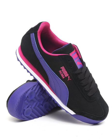 Puma Women Black Roma L Nbk Wmns Sneakers