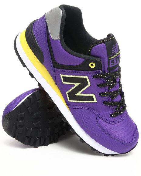 New Balance - Women Purple Women's Windbreaker 574 Sneakers