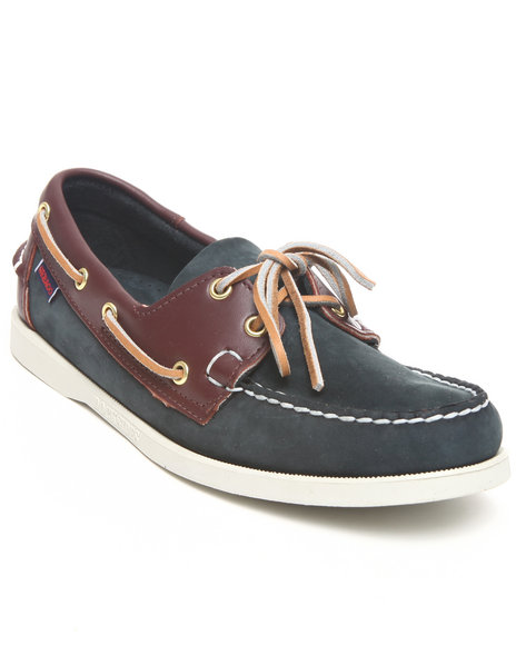 Sebago Men Docksides Boat Shoe Blue 12
