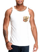 Shirts - Camo Pocket Tank Top