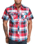 Men - Plaid Woven Shirts