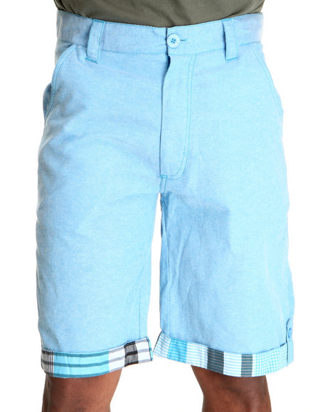 Enyce Men Blue Scorpio Chambray Short