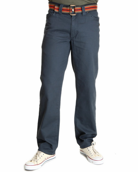 A Tiziano Men Navy Lincoln Straight Fit Denim Jeans