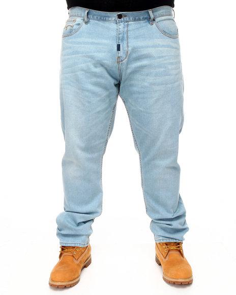 LRG Men Light Wash Core Collection True - Straight Denim Jeans (B&T)