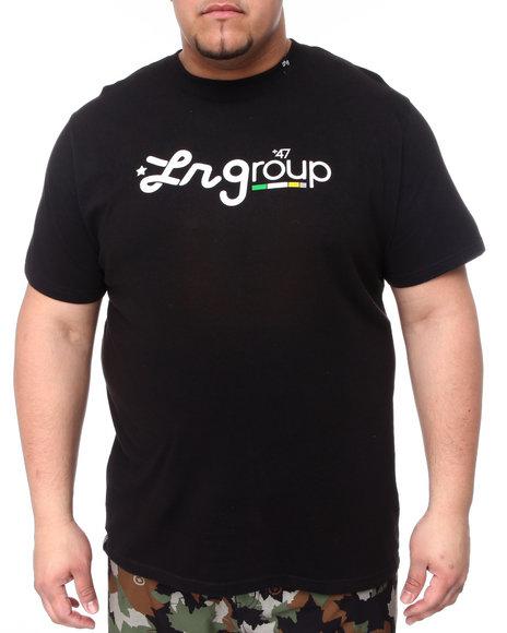 LRG Men Black Lr Group Tee (B&T)