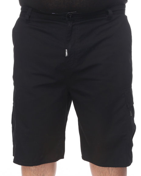 LRG Men Black Core Collection Classic Cargo Shorts (B&T)