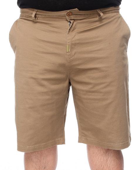 LRG Men Khaki Core Collection True - Straight Chino Short (B&T)