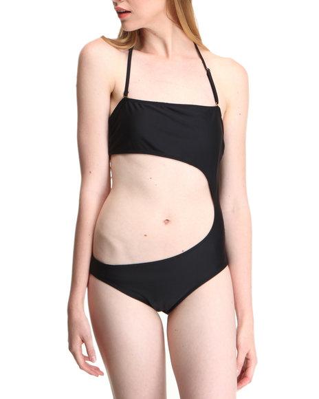 Drj Swim Shoppe - Women Black Native Tube Monokini Swimsuit