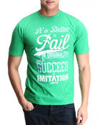 Men - Fail To Succeed S/S Tee