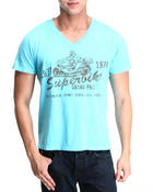 Men - Superbike V-Neck T-Shirt