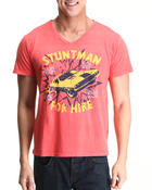 Men - Stuntman V-Neck T-Shirt