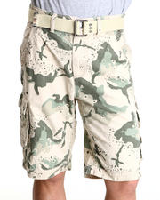 Basic Essentials - Overdrive Camoflage Cargo Short