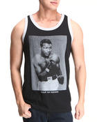 Men - Sugar Ray Robinson Contrast Seam Tank Top