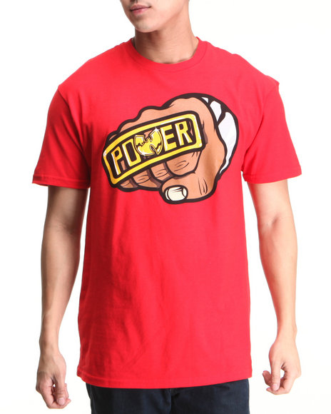 Wu-Tang Limited Men Red Power T-Shirt