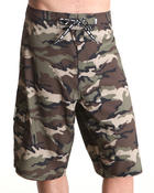 Men - Universe Camo Board Shorts