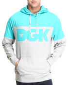 DGK - City Color Blocked Lightweight Jersey Hoodie