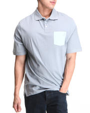 Men - Colored Blocked Jersey Polo