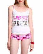 Intimates & Sleepwear - Pink Panther Knit Cami & Boyshort Set